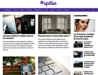 blog.uplike.com screenshot