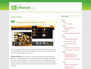 blog.urbanesia.com screenshot