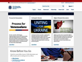 blog.uscis.gov screenshot