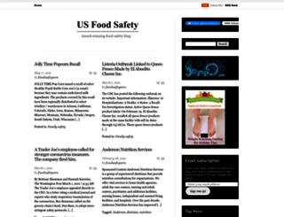 blog.usfoodsafety.com screenshot