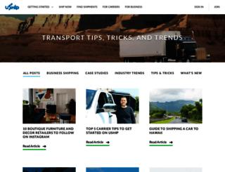 blog.uship.com screenshot