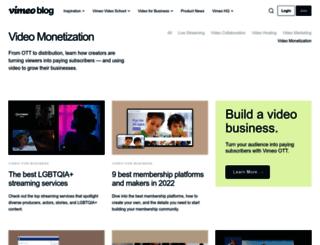 blog.vhx.tv screenshot