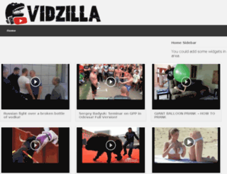 blog.vidzilla.info screenshot