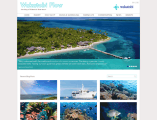 blog.wakatobi.com screenshot