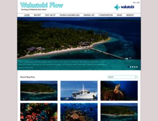 blog.wakatobi.com screenshot