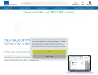 blog.weka-bausoftware.de screenshot