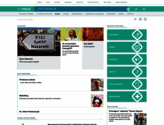 blog.wiara.pl screenshot