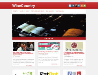blog.winecountry.co.za screenshot