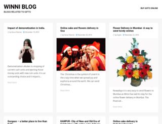 blog.winni.in screenshot
