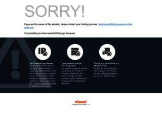 blog.women-on-the-road.com screenshot