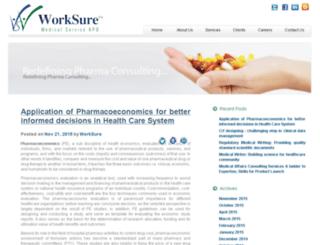blog.worksure.org screenshot