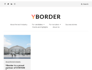 blog.yborder.com screenshot