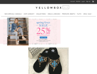blog.yellowboxshoes.com screenshot