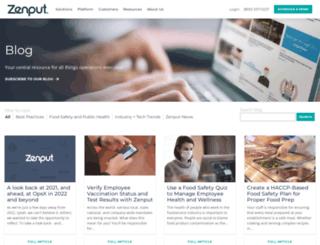 blog.zenput.com screenshot