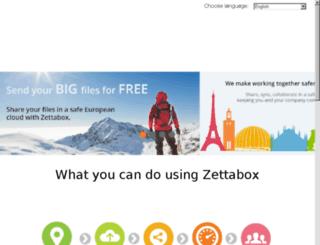 blog.zettabox.com screenshot
