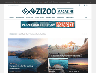 blog.zizoo.com screenshot