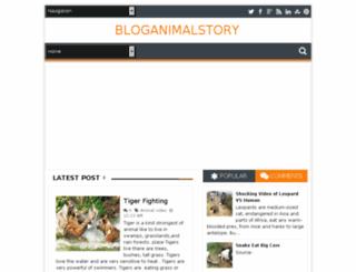 bloganimalstory.blogspot.com screenshot
