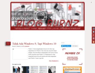 blogburnz.blogspot.com screenshot