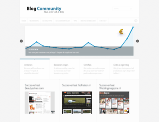 blogcommunity.nl screenshot