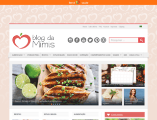 blogdamimis.com.br screenshot
