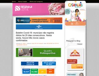blogdaresenhageral.com.br screenshot