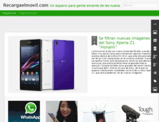 blogderecargaelmovil.com screenshot