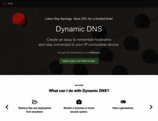 blogdns.org screenshot