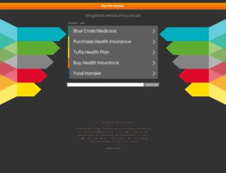 blogdoaryelaquino.com.br screenshot