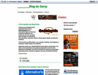 blogdogaray.blogspot.com.br screenshot