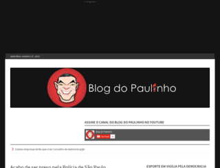 blogdopaulinho.wordpress.com screenshot