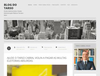 blogdotarso.com screenshot