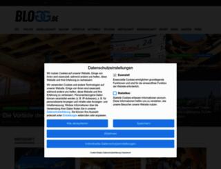 blogg.de screenshot