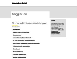blogg.lnu.se screenshot