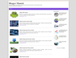 blogger-muntok.blogspot.co.id screenshot
