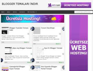 blogger-temalariindir.blogspot.com screenshot