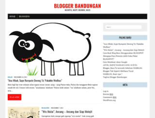 bloggerbandungan.com screenshot