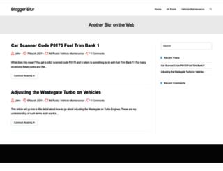 bloggerblur.com screenshot