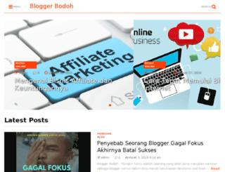 bloggerbodoh.com screenshot