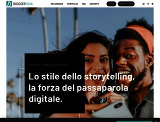 bloggeritalia.it screenshot