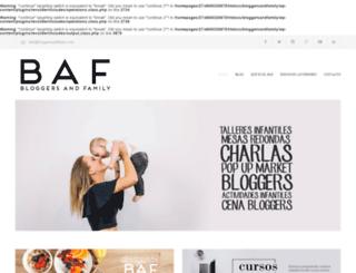 bloggersandfamily.com screenshot