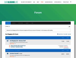 bloggersforum.com screenshot