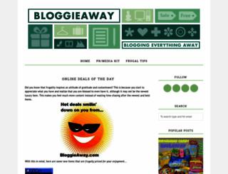 bloggieaway.blogspot.com screenshot