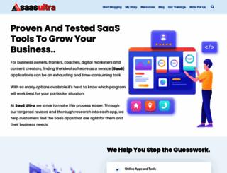 bloggingcage.com screenshot