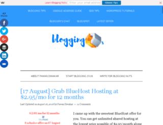 bloggingmeans.com screenshot