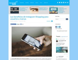 blogginzenith.zenithmedia.es screenshot