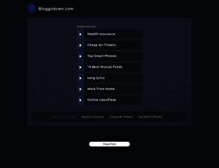 bloggodown.com screenshot