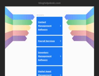 bloghelpdesk.com screenshot