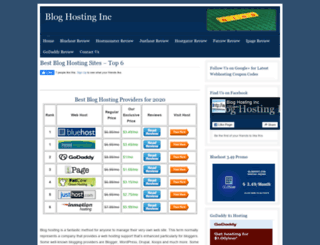 bloghostinginc.org screenshot