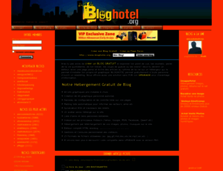 bloghotel.org screenshot
