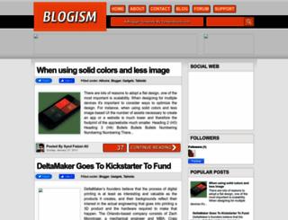 blogismdemo.blogspot.com screenshot